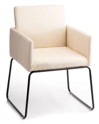 Krzesło Sitta Black Light Beige