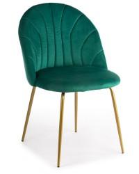 Krzesło Bella Gold Dark Green