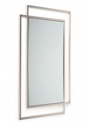 Lustro Vido Silver 110x80 cm