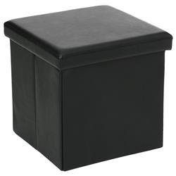 Pufa Callie Black 38x38 cm