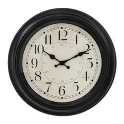 Zegar ścienny Nelson Black 40 cm