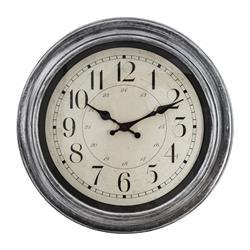 Zegar ścienny Nelson Silver 40 cm