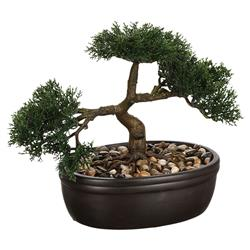 Drzewko bonsai w czarnej doniczce 23 cm