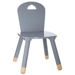 Krzesło dziecięce Sweet szare