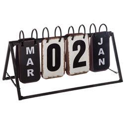 Dekoracyjny kalendarz kołowy na biurko