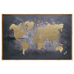 Obrazek ścienny w ramce World 58x88 cm