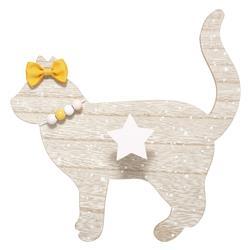 Wieszak Kot z haczykiem w formie gwiazdy