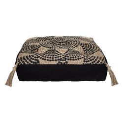 Jutowa poduszka do siedzenia Mandala