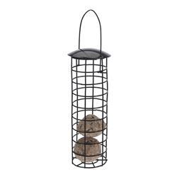 Karmnik dla ptaków metalowy czarny