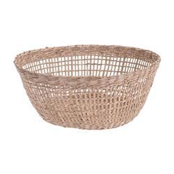 Koszyk okrągły z trawy morskiej 25 cm