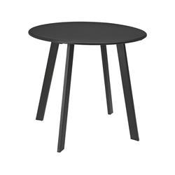 Stolik metalowy okrągły szary mat 50 cm