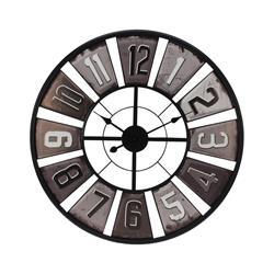 Zegar ścienny Retro czarny 80 cm