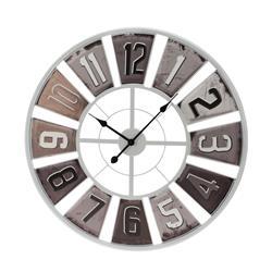 Zegar ścienny Retro biały 80 cm