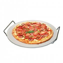 Kamień do pieczenia pizzy z uchwytami