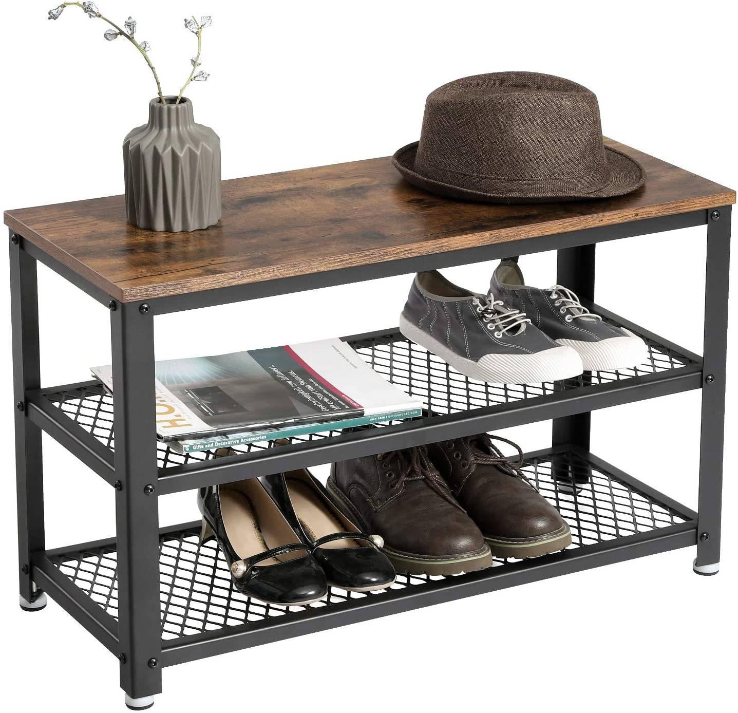 Półka ławka na buty do przedpokoju LOFT