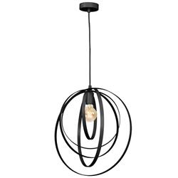 Geometryczna lampa wisząca Ringo 45 cm