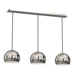 Lampa wisząca chrom potrójna Cool połysk