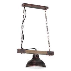 Lampa industrialna Hakon brązowa LOFT