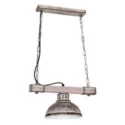 Lampa industrialna Hakon jasny brązowy