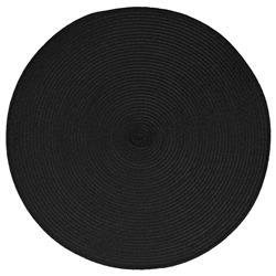 Podkładka na stół Braid Black okrągła