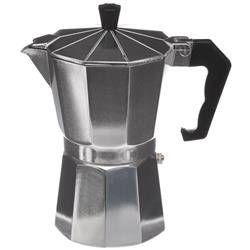 Aluminiowa kawiarka Kelsey srebrna