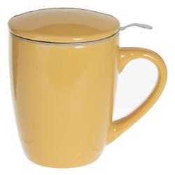 Kubek z zaparzaczem Lian Yellow 320 ml