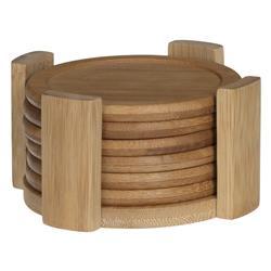Komplet 6 podstawek bambusowych na blat
