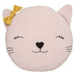Poduszka dekoracyjna dla dziecka Kotek