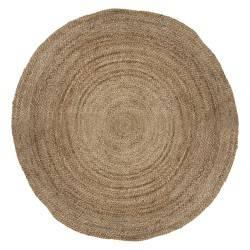 Okrągły dywan jutowy Kenzo 120 cm
