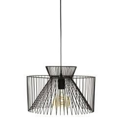 Lampa wisząca Dario Black 35 cm