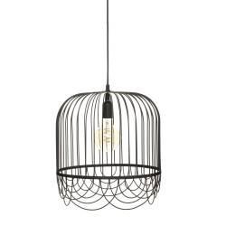 Lampa wisząca Lise Black 36 cm