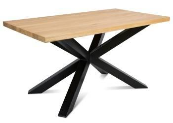 Stół pająk OakLoft 140x80 cm jasny dąb