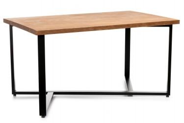 Konferencyjny stół 150x90 cm ciemny dąb