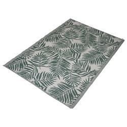 Mata podłogowa zielona liście 120x180 cm