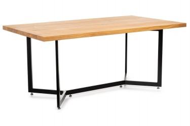 Stół konferencyjny duży 180x100 cm dąb