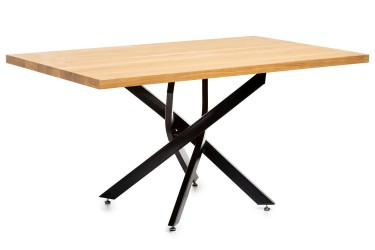 Duży stół konferencyjny 150x90 jasny dąb