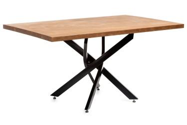Duży stół konferencyjny ława ciemny dąb