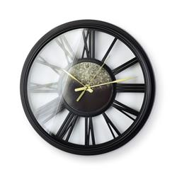 Zegar ścienny Wilmon Black 33 cm