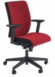 Fotel obrotowy Pop czerwony