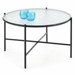 Stolik kawowy Rosalia szklany 70 cm