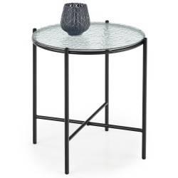 Stolik kawowy Rosalia szklany 45 cm
