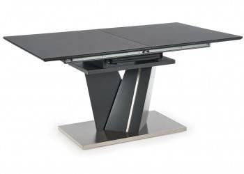 Stół rozkładany Salvador ciemny popiel