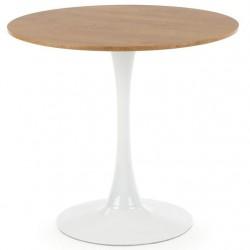 Stół okrągły Sting dąb złoty 80 cm