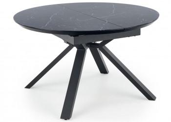 Stół rozkładany Vertigo Black Marble