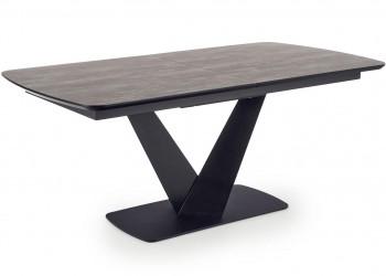Stół rozkładany Vinston ciemny popiel