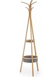 Wieszak stojący W-63 bambusowy