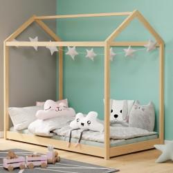 Łóżko dziecięce Yogi sosna 160x80 cm