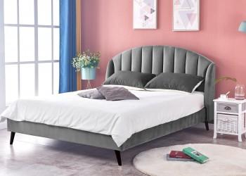 Łóżko Yovella 160x200 cm popielate