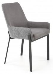 Krzesło tapicerowane K-439 ciemny popiel