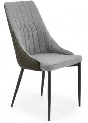 Krzesło tapicerowane K-448 popielate